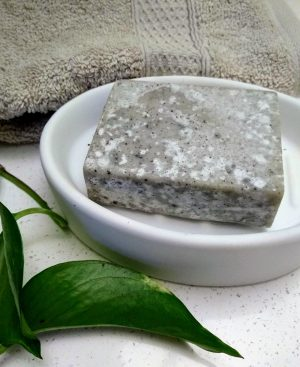 natural-handmade-salt-soap-in-white-soapdish