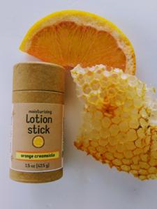 lotion bar, zero waste lotion