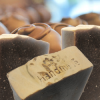 chocolate-soap-bars-in-front-of-chocolate-truffles