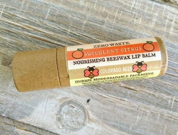 Succulent-citrus-no-waste-lip-balm