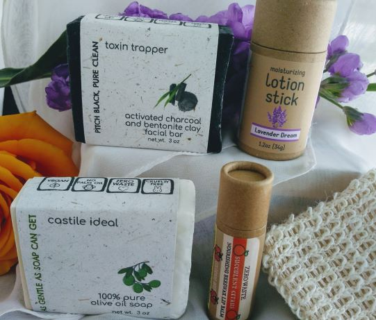 Mothers-day-gift-2021-set-of-eco-soaps-lip-balm-and-lotion-stick