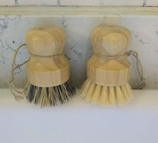 wood dish brushes