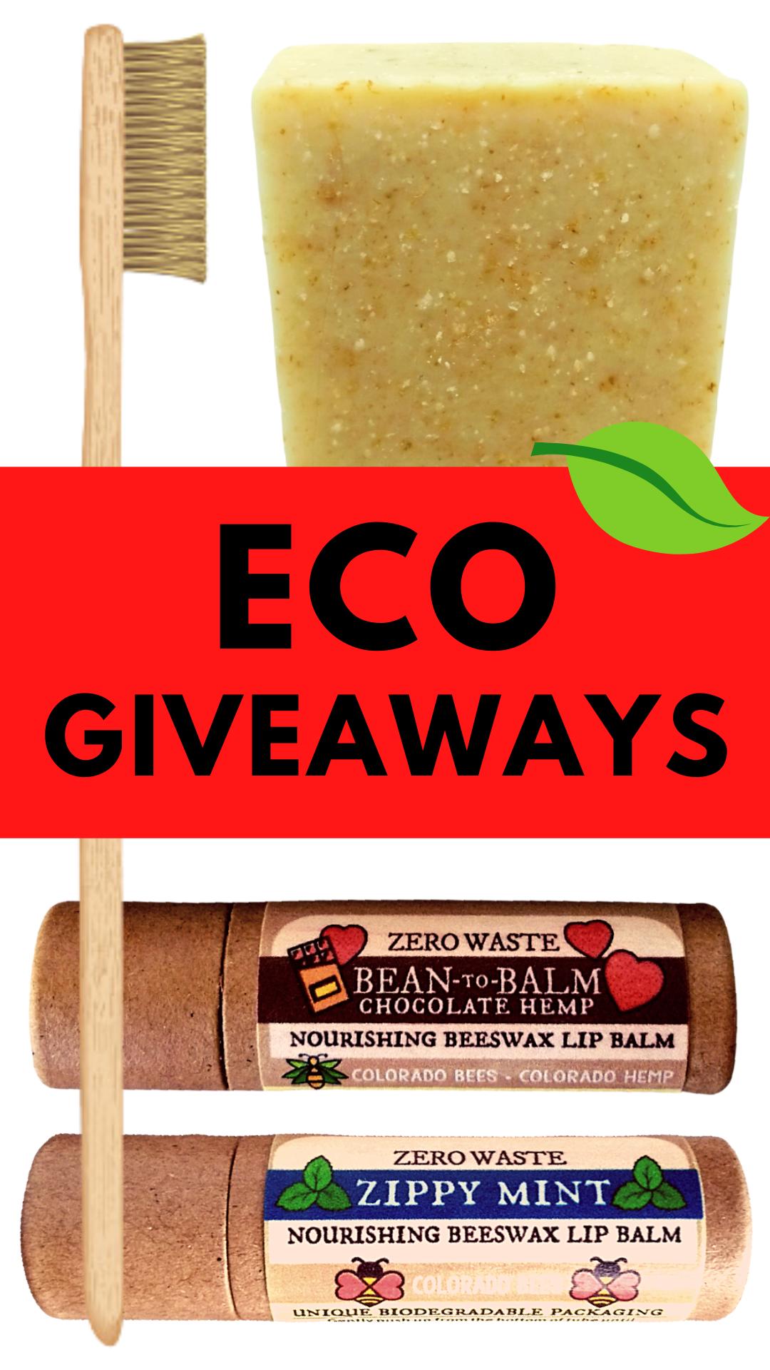 Free eco giveaways.